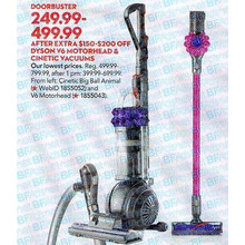 Dyson Cinetic Big Ball Animal Upright Vacuum 249.99-499.99