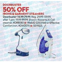 Rowenta Hand-Held Garment Steamer 50% OFF