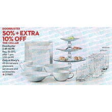 The Cellar Serveware & Accessories 50% OFF + 10% OFF