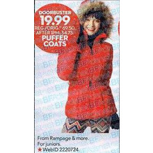 Select Juniors Puffer Coats
