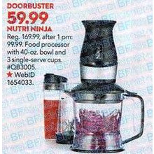 Ninja Nutri Ninja 2-in-1 Blender