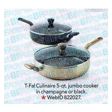 T-Fal Culinaire 5-qt. Covered Jumbo Fry Pan