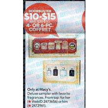 Macys 6-pc. Coffret For Him
