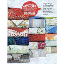 Martha Stewart Collection Quilts & Bedspreads 60% Off