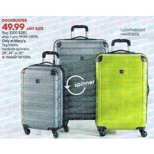 Tag Matrix 20 Lightweight Carry On Hardside Spinner Suitcase