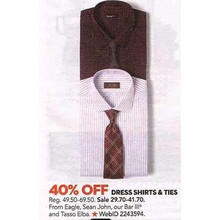 Sean John Dress Shirts 40% (Assorted)