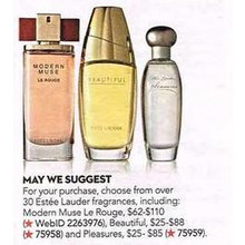 Estee Lauder Beautiful for Women Perfume Collection