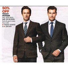 Tommy Hilfiger 50% Off Suits & Sport Coats