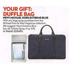 Michael Kors for Men Extreme Blue Eau de Toilette Spray 4-oz. w/ Free Michael Kors Duffle Bag