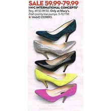 INC International Concepts Pointy-Toe Pumps (5-10. 11M) (Assorted colors) ($59.99-$79.99)