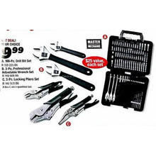 Master Mechanic 100-pc. Drill Bit Set