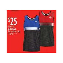 Adidas Mens Double Up Tank