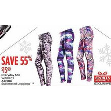 Aspire Womens Sublimated Leggings (Assorted)