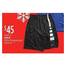 Nike Mens Elite Basketball Shorts
