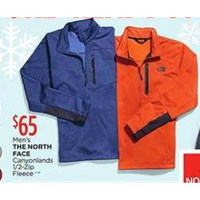 The North Face Canyonlands 1/2-Zip Mens Fleece