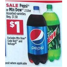 Pepsi 2-lt. (Assorted)