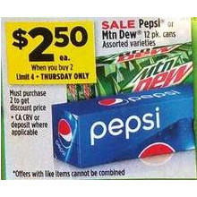 Mountain Dew Cans 12-pk. (Assorted)