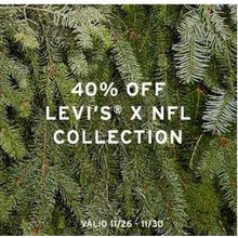 Levi's X NFL Collection (Assorted) 40% Off