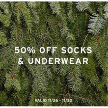 Socks 50% Off