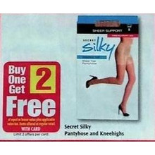 Secret Silky Kneehighs B1G2 Free