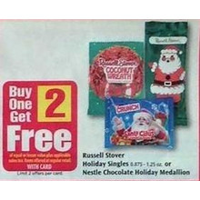 Holiday Singles 1.25-oz. B1G2 Free