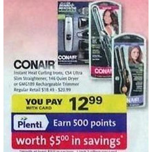 Conair Instant Heat Curling Irons