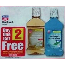Mouthwash 500-ml. B1G2 Free