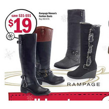 Rampage Womens Fashion Boots