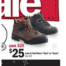 Lake & Trail Mens Grant Boots