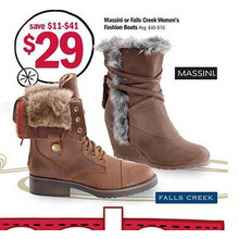 Falls Creek Womens Fashion Boots