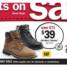 CAT Mens Electric Boots