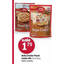 Betty Crocker Pouch Cookie Mix (Assorted)