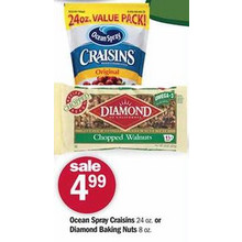 Ocean Spray Craisins 24-oz.