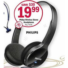 Philips Wireless Stereo Headphones