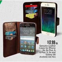 Galaxy S6 Genuine Leather Cases