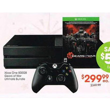 Xbox One 500GB Console Gears of War Ultimate Bundle