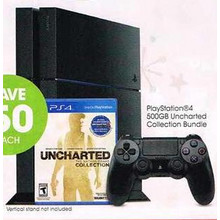 Playstation 4 500GB Console Uncharted Collection Bundle