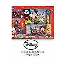 Disney Deluxe Book Gift Sets