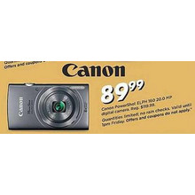 Canon Powershot ELPH 160 20.0 MP Digital Camera