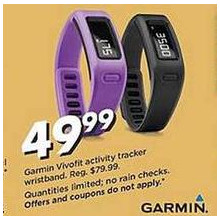 Gamin Vivofit Activity Tracker Wristband