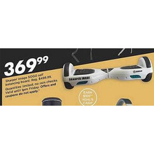 Sharper Image Sogo Self Balancing Board