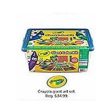 Crayola Giant Art Set