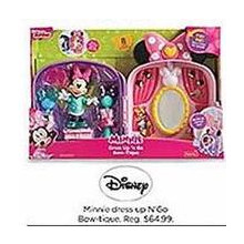 Disney Minnis Dress Up N GO Bowtique