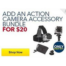 Action Camera Accessory Bundle