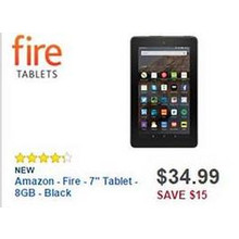 "Amazon Fire 7"" Tablet 8GB"