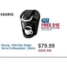 Keurig K40 Elite Single-Serve Coffeemaker
