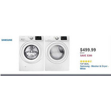 Samsung 4.2-cu. ft. 8-Cycle High-Efficiency Front-Loading Washer (White)