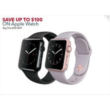 Apple Watch Up to $100 Off