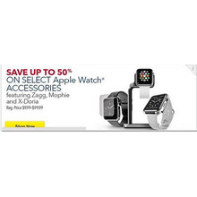 Zagg Apple Watch Accessories (Select) Up to 50% Off
