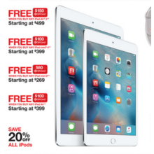 Apple iPad mini 2 + Free $80.00 Target GiftCard Starting at $269.00